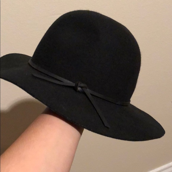 1c6919bc Brixton Accessories | Black Floppy Hat | Poshmark